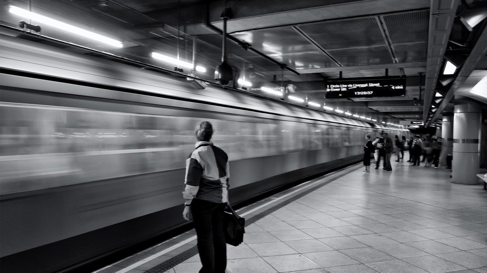 """""""下班后的地铁"""""""